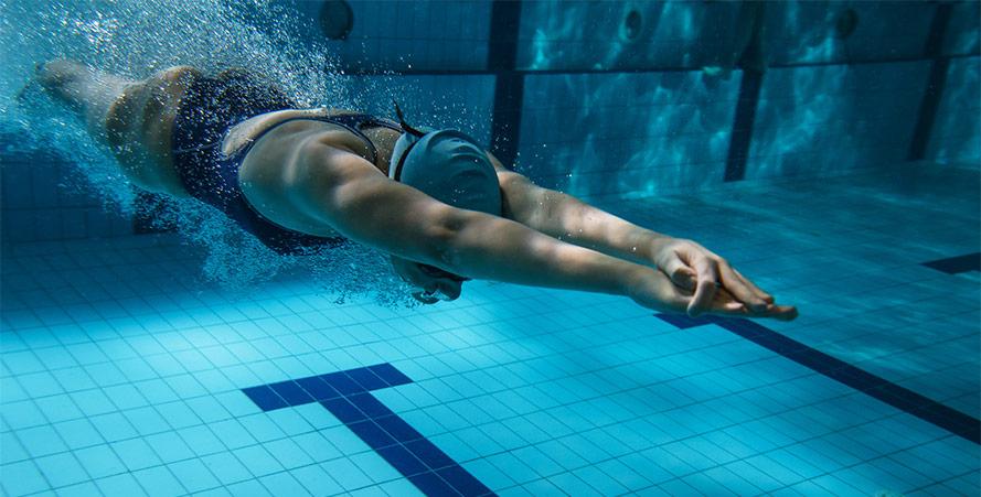 natation hiver